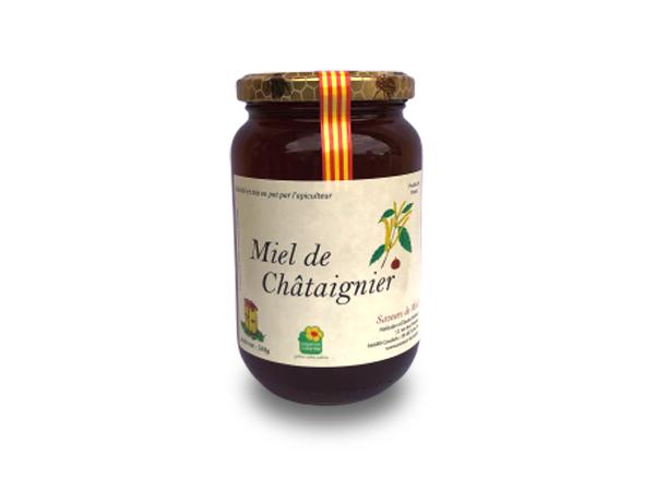 Pot de miel de châtaignier à vendre à Perpignan 66