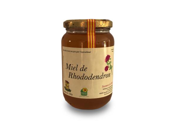 Pot de miel de rhododendron à vendre à Perpignan 66