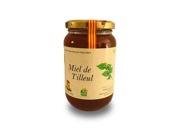 Pot de miel de tilleul à Perpignan 66